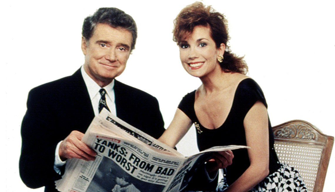 8 Celebrities Who Became Fabulously Famous - Regis Philbin