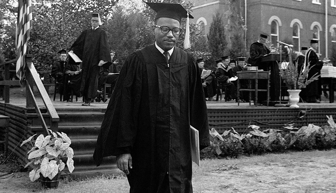 James Meredith, An African American Student, Graduates From University Of Mississippi, Civil Rights Movement, 1963 Was a Year With Lasting Impact, AARP Politics, Events And History