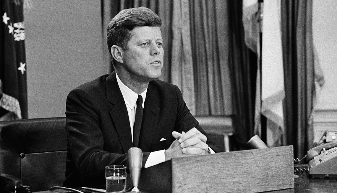 President John F Kennedy National Broadcast, Civil Rights Movement, 1963 Was a Year With Lasting Impact, AARP Politics, Events And History