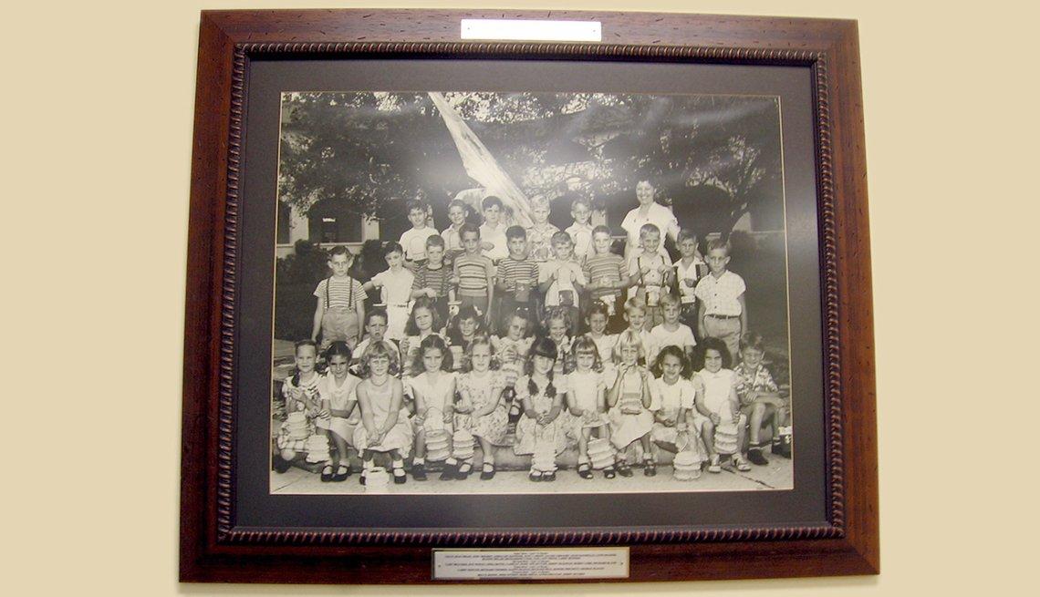Foto de los primeros estudiantes de Coral Way Elementary School en Miami