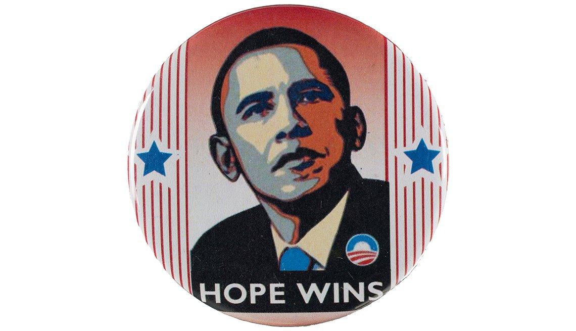 Obama Campaign button