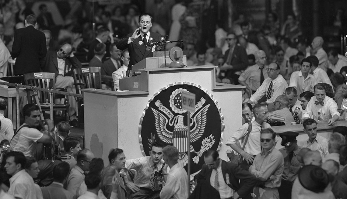 SLIDESHOW: Great Political Moments in DEM Convention History, Pt. 2