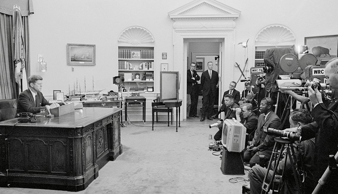 The Struggle for Civil Rights - President Kennedy speaks from the Oval Office