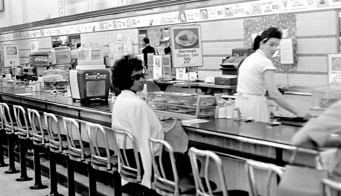 The Struggle for Civil Rights - sit-ins to protest discrimination that continues at lunch counters