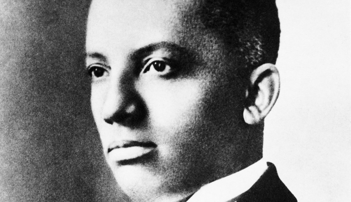 El historiador Carter G. Woodson