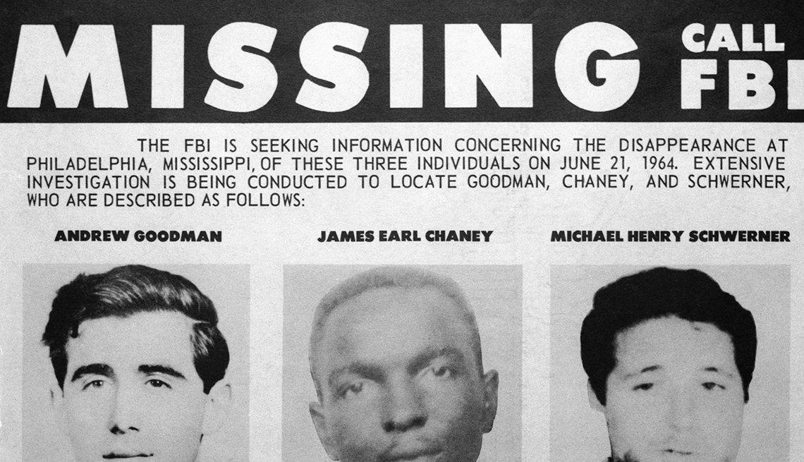 Cartel de personas desaparecidas, lucha por los derechos civiles