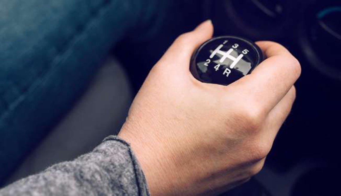Auto de transmisión manual