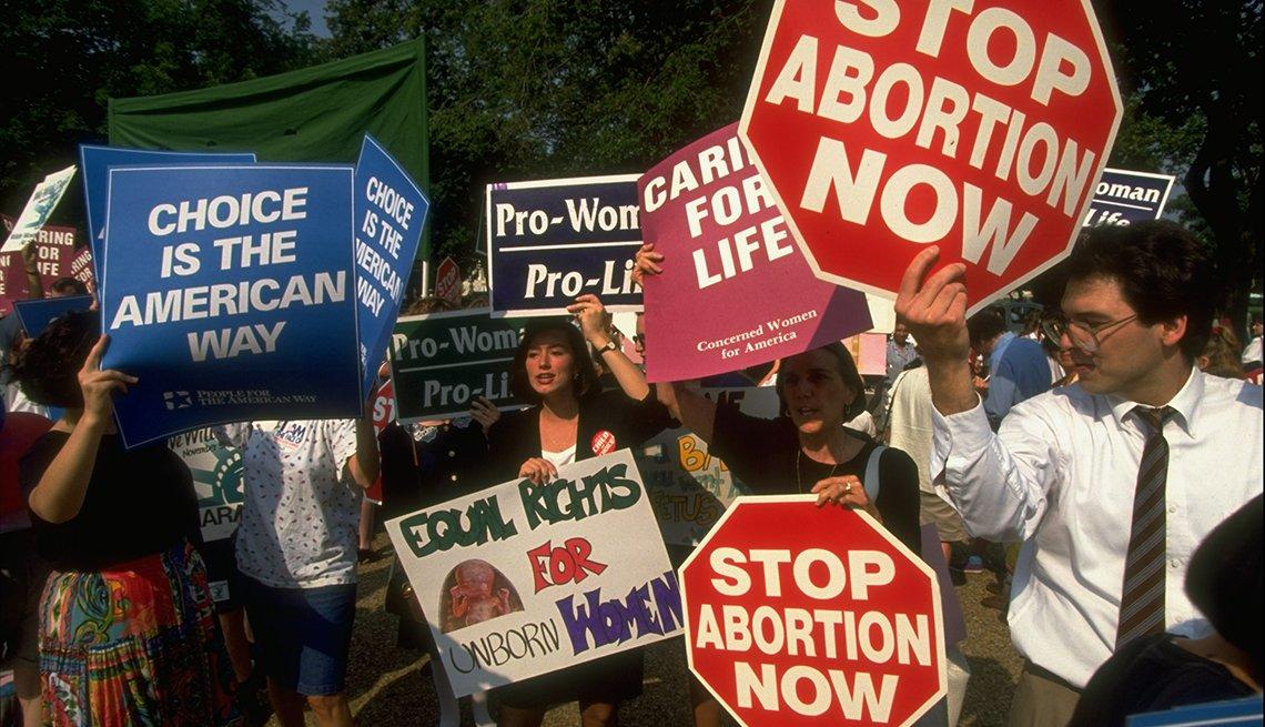 Roe v. Wade y la legalizacion del aborto