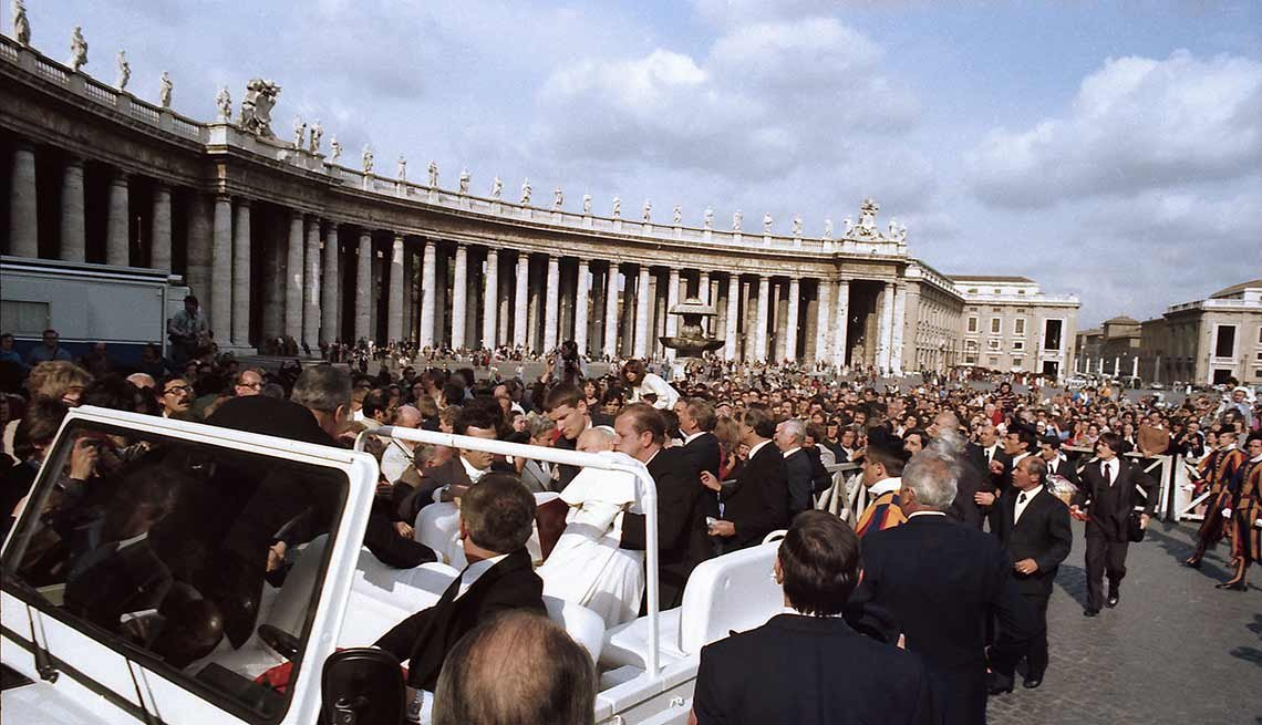 Atentado contra el papa Juan Pablo II