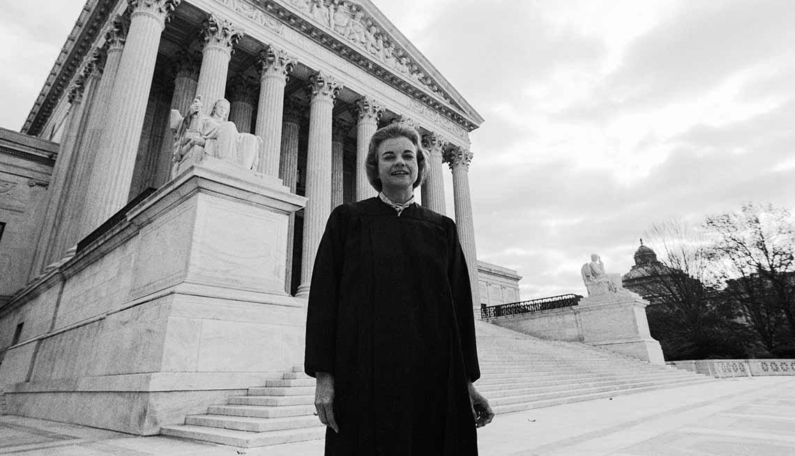 Juez Sandra Day O'Connor, primera mujer en la corte suprema