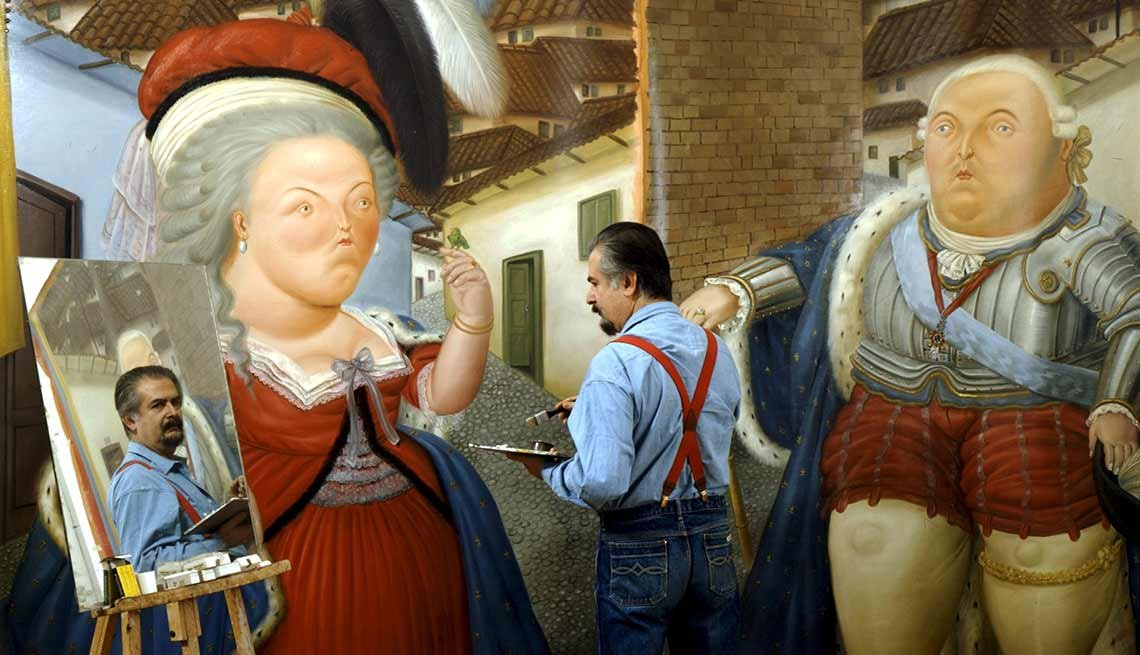 Fernando Botero y sus cuadros