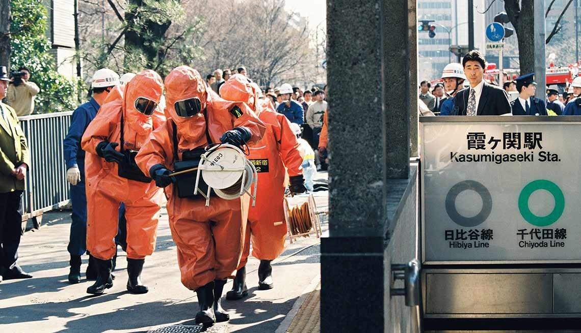 Ataque terrorista con químicos en Japón