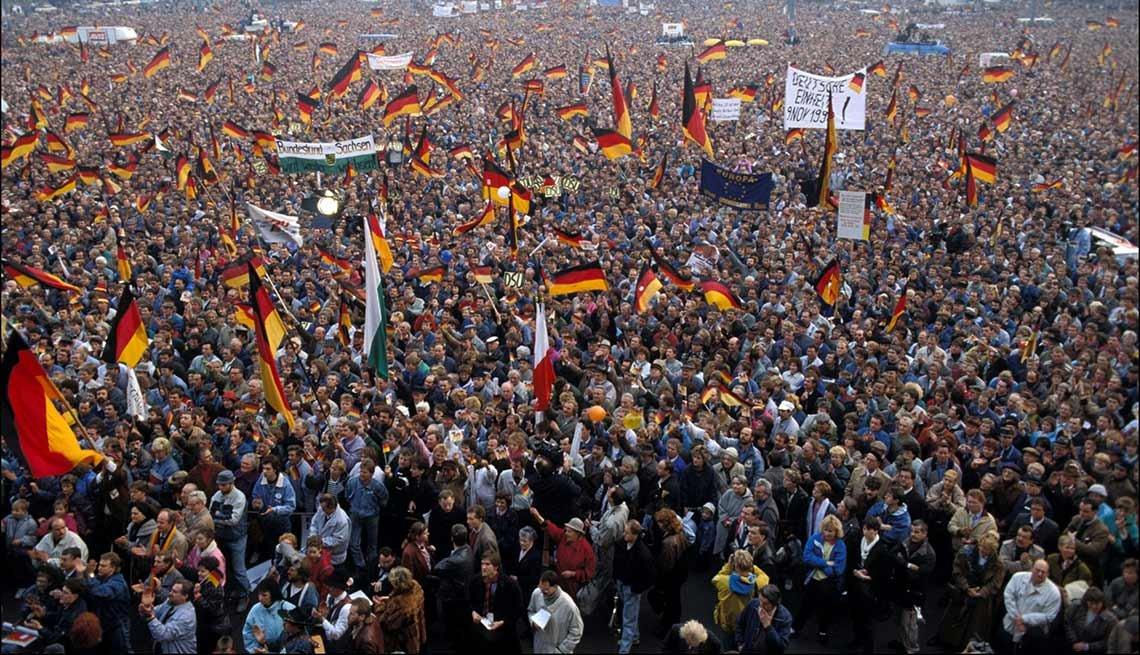 Multitud en Alemania