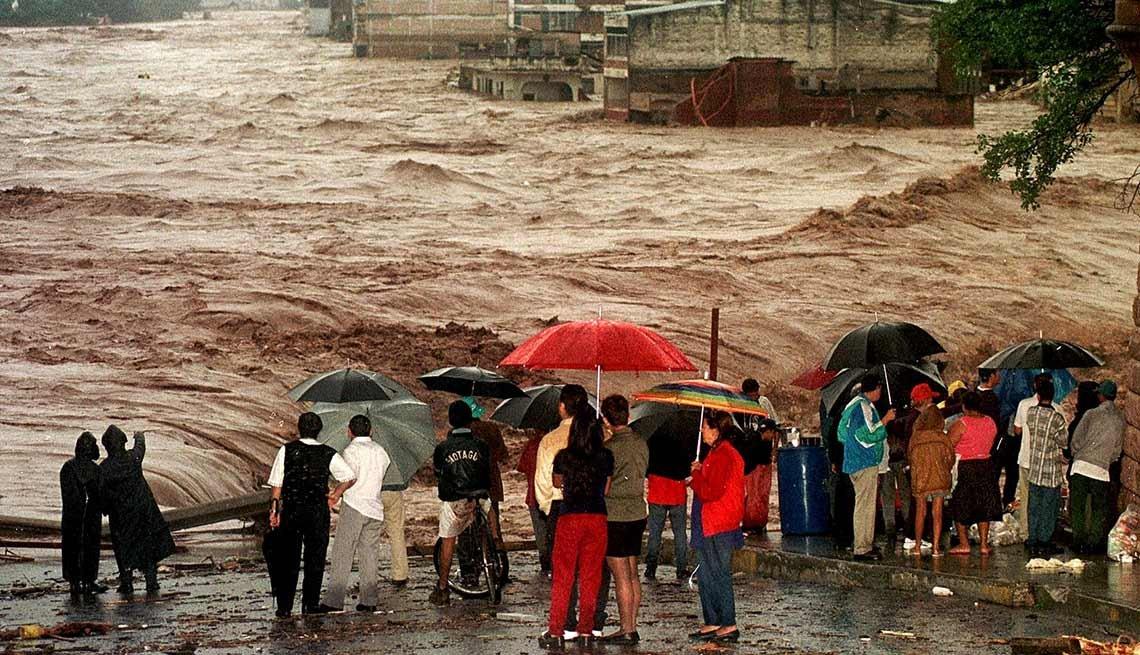 Huracán Mitch en Honduras