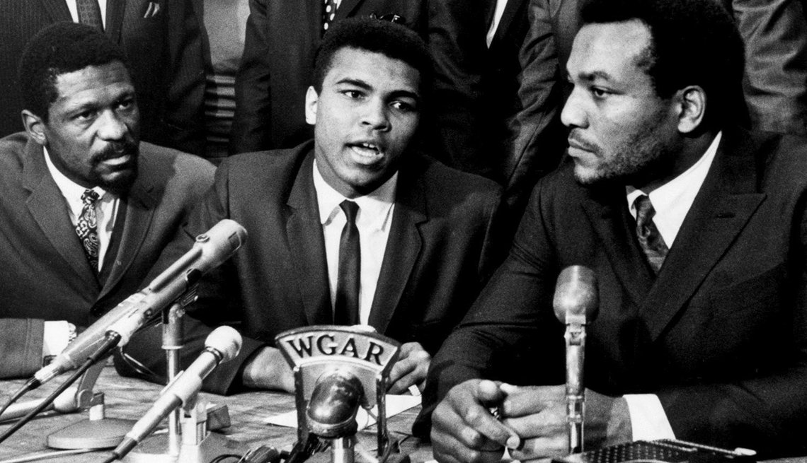 1967 the year of change, Ali Won't Fight