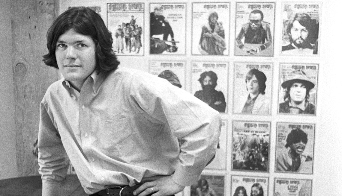 1967 the year of change, Rolling Stone Hits the Stands