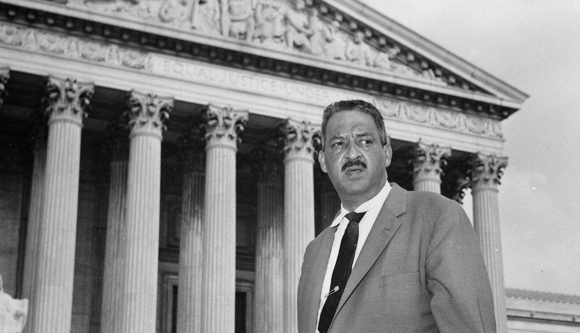 African Americans First After 50 Thurgood Marshall