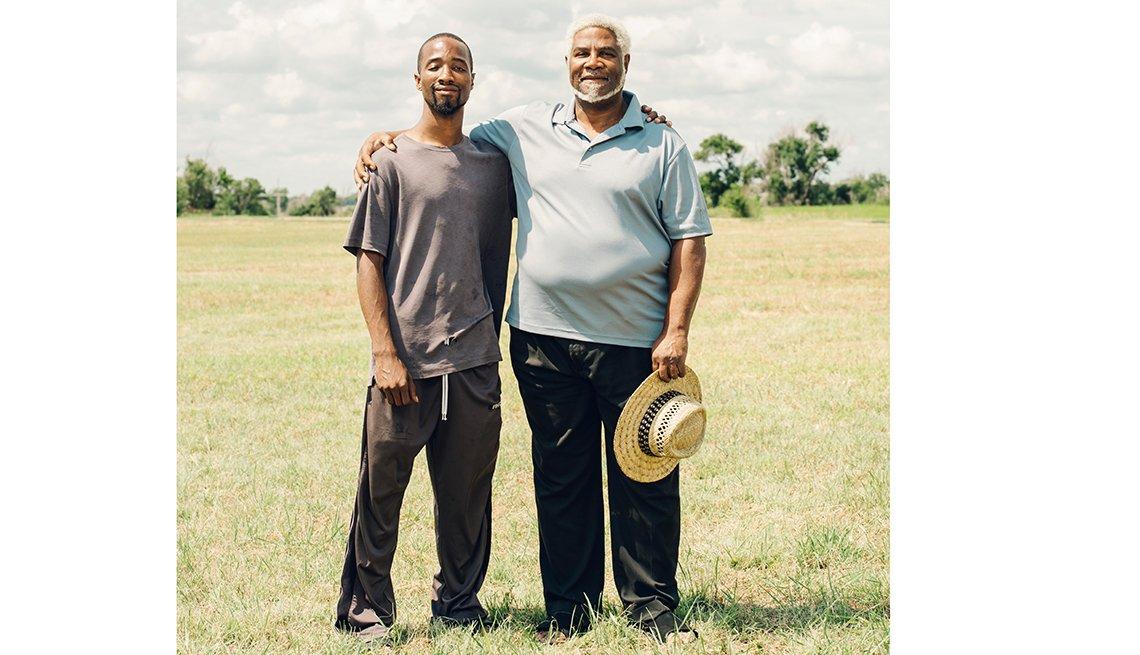 Nicodemus homecoming family reunion - Raymond A. Groves IV and Raymond A. Groves III both of Denver, Colorado