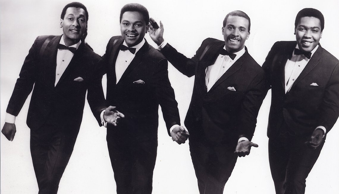 12 R&B Hits Still Applauded 50 Years Later - four tops