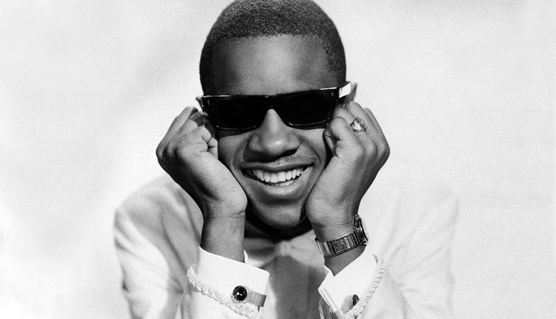 12 R&B Hits Still Applauded 50 Years Later - Stevie Wonder