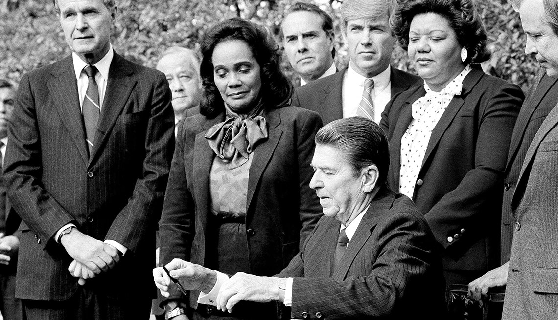 Remembering the Life of Martin Luther King Jr. - MLK Day Bill Signed 1983