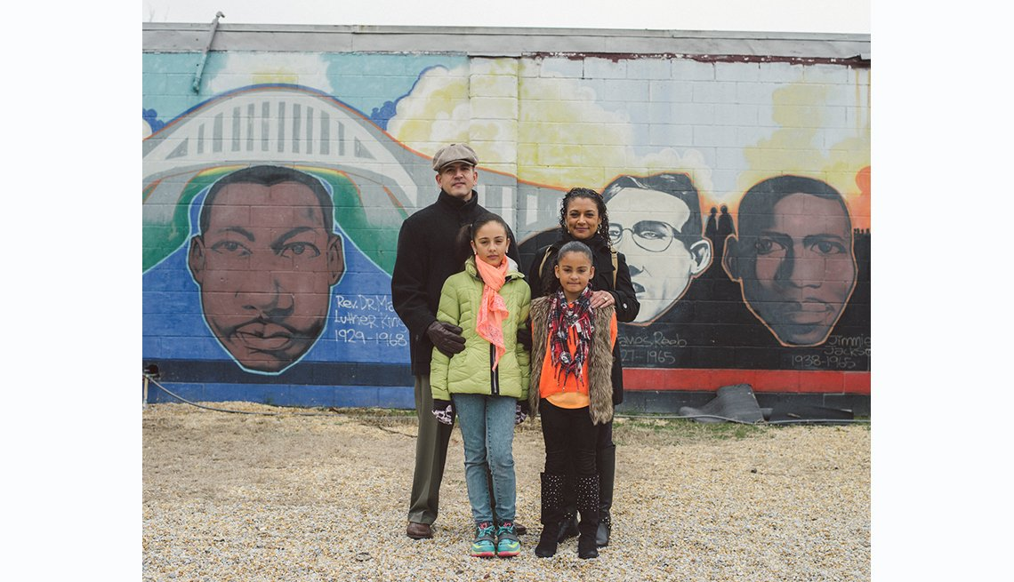 Selma to Montgomery, participants in the unity walk