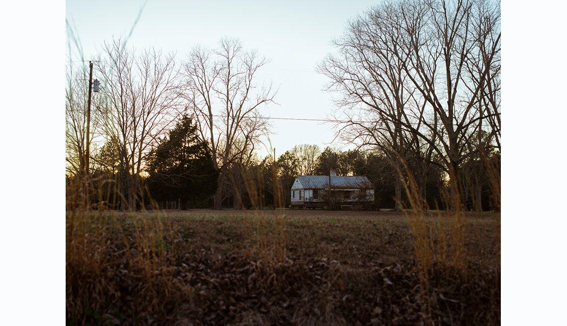 Selma to Montgomery, David Hall's Farm in Dallas County