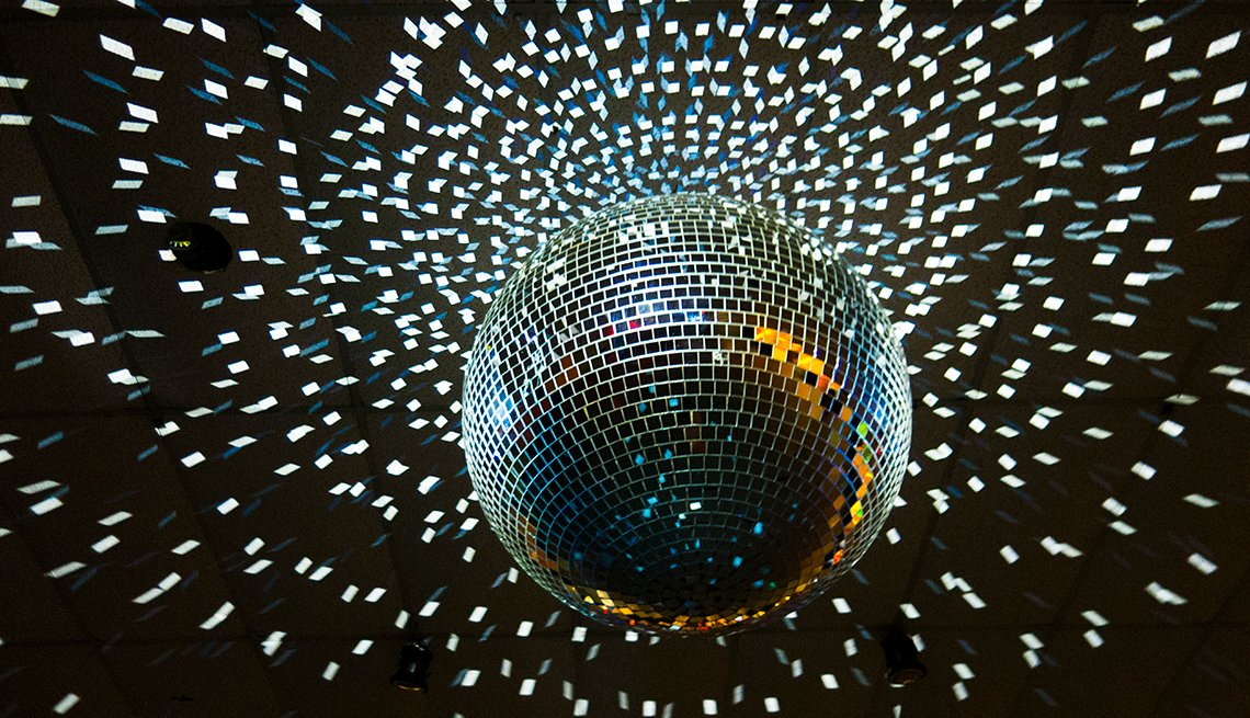 Disco Ball, AARP