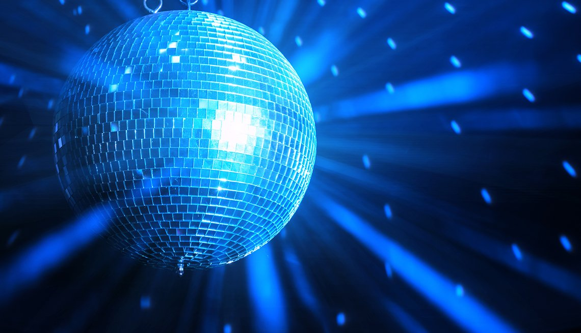 The Icons of Disco - disco ball