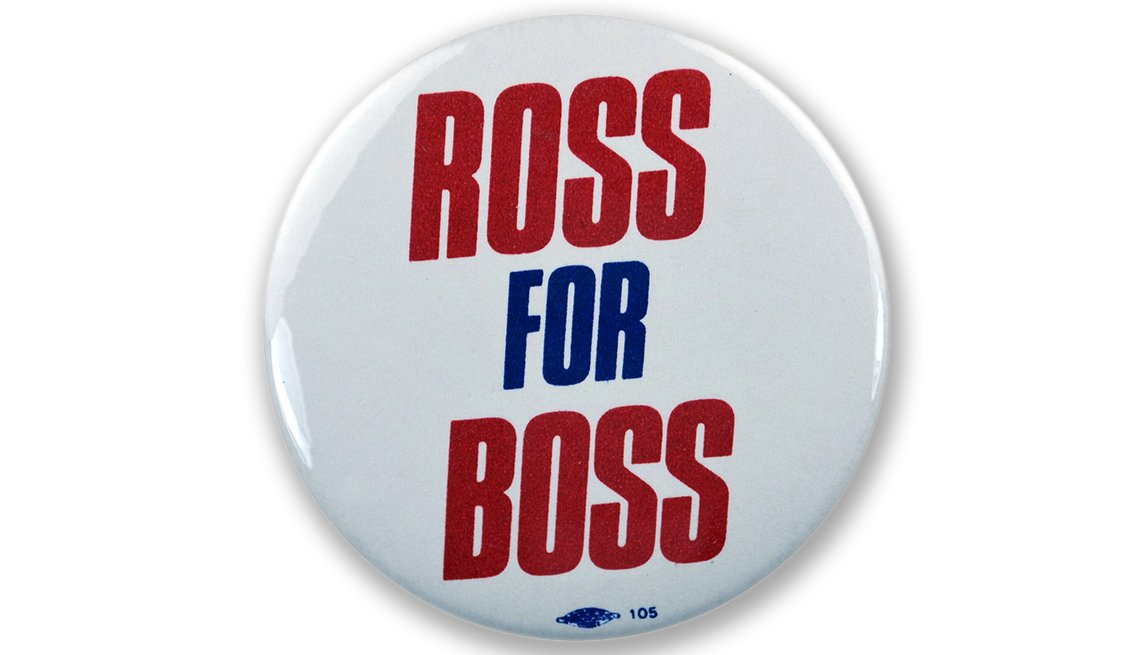 Memorable Presidential Campaign Slogans - Texas billionaire Ross Perot