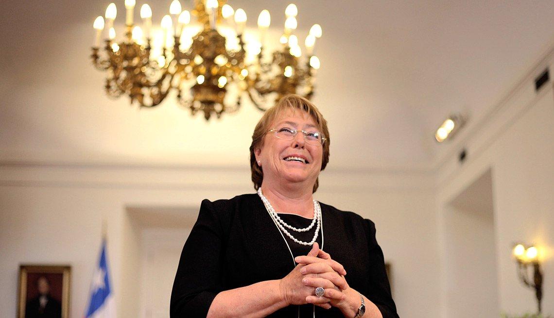 Michelle Bachelet - Abuelas famosas