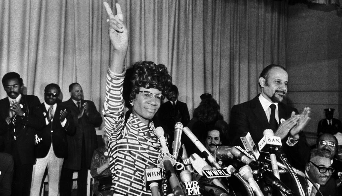 Women Who've Run for President - Shirley Chisholm