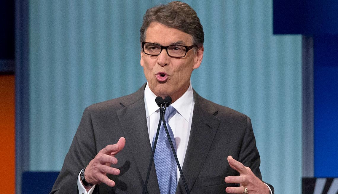 10 Weird things that happened during presidential campaigns - Republican hopeful Rick Perry forgot