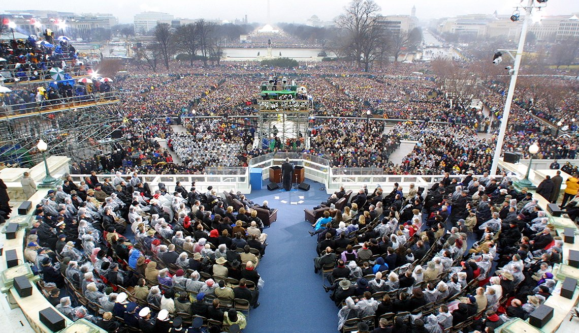 Inauguration Speeches and the 50+