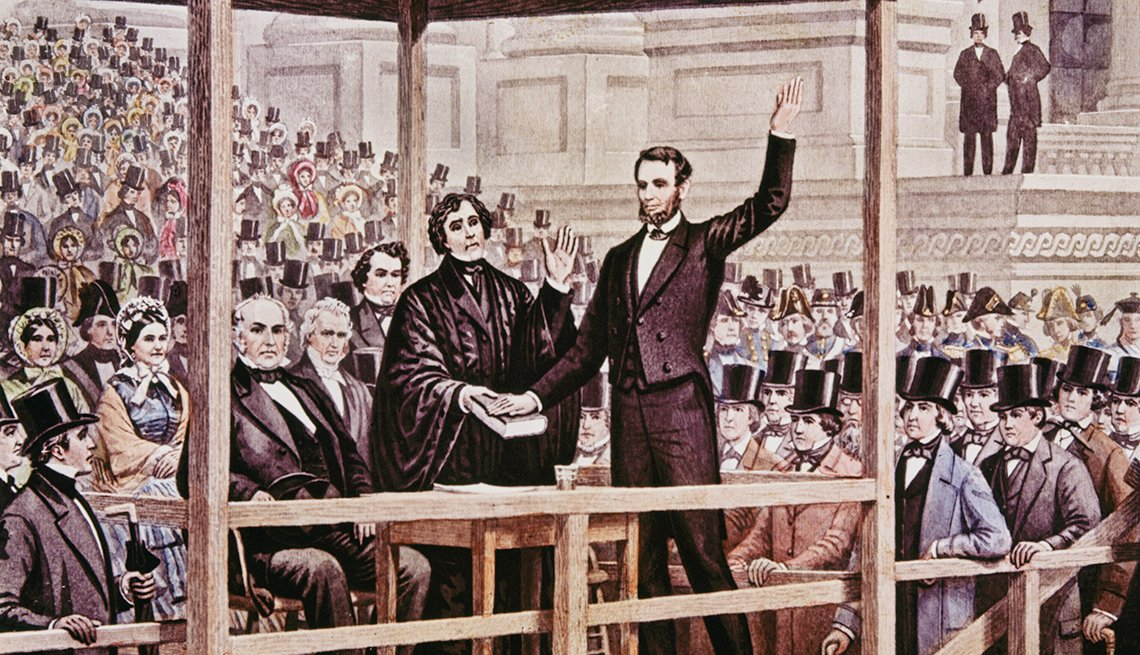 memorable inauguration moments - With the country still mired in a Civil War, Abraham Lincoln, in 1865, used his address to try to heal the nation's wounds