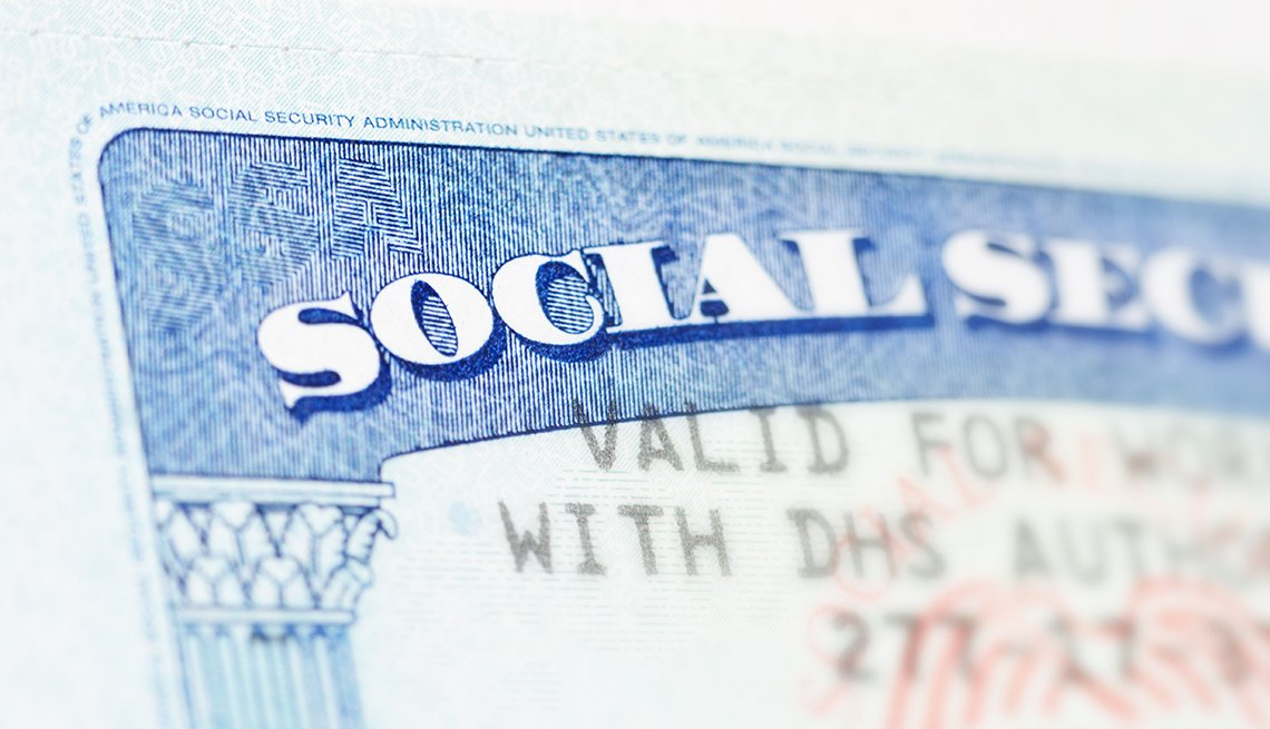 Social Security card, AARP, Public Policy Institute, Issues,