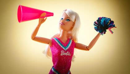 Memorabilia the baby boomer loves- a Barbie doll