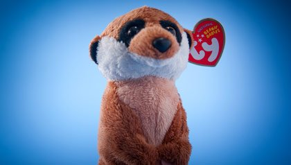 Memorabilia the baby boomer loves- a Beanie Baby