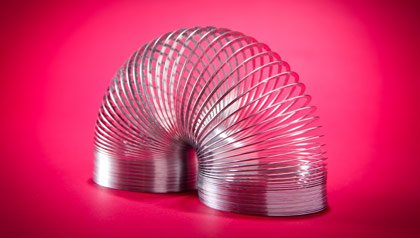 Memorabilia the baby boomer loves - a Slinky toy