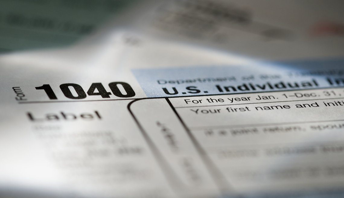 United States tax form, taxation, AARP Research, Politics