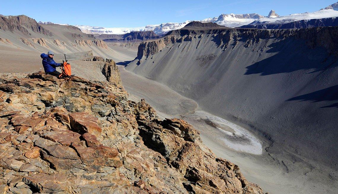 Lago Don Juan, Antártida - 10 lugares extraños y maravillosos en el mundo