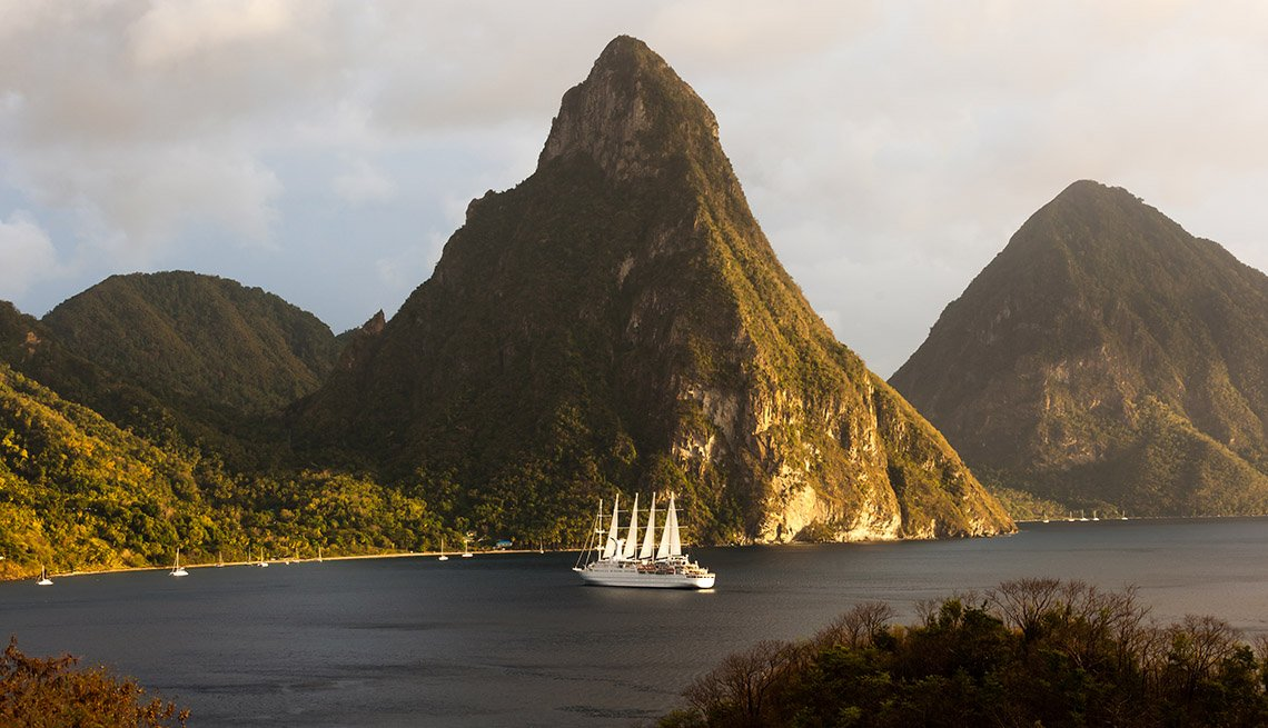 Puertos perfectos para cruceros