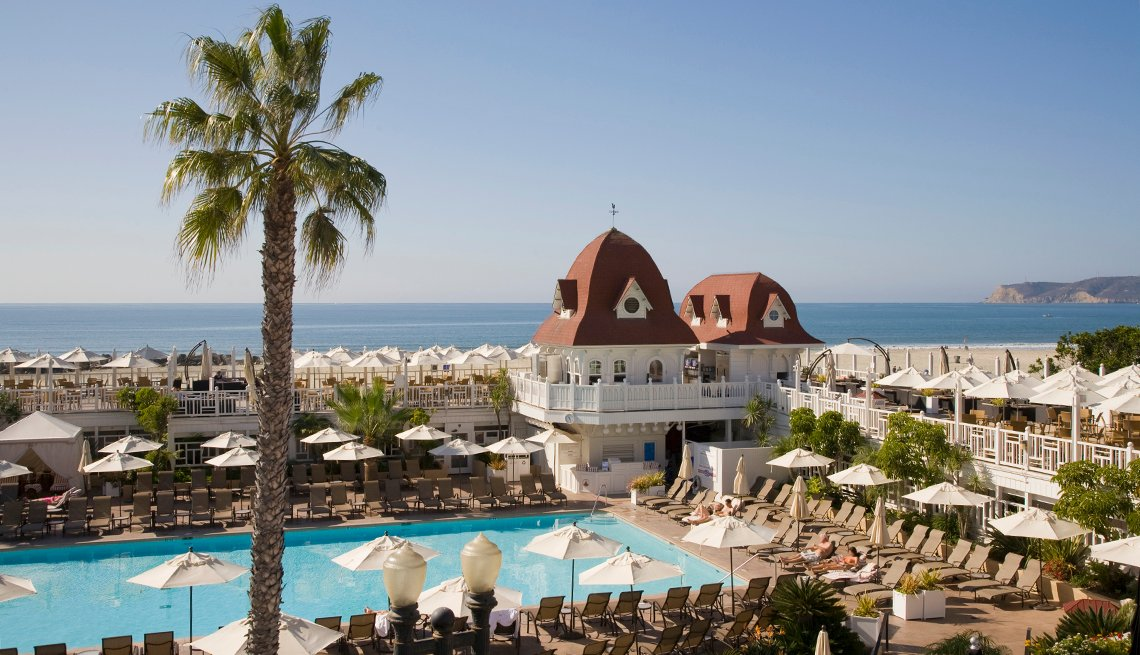 Hotel del Coronado, California, Sunny Places to Go This Winter