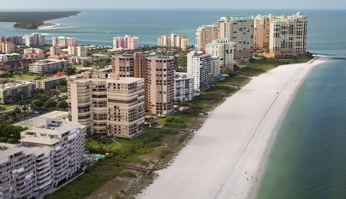 Beachfront, Marco Island, Florida, Sunny Places to Go This Winter