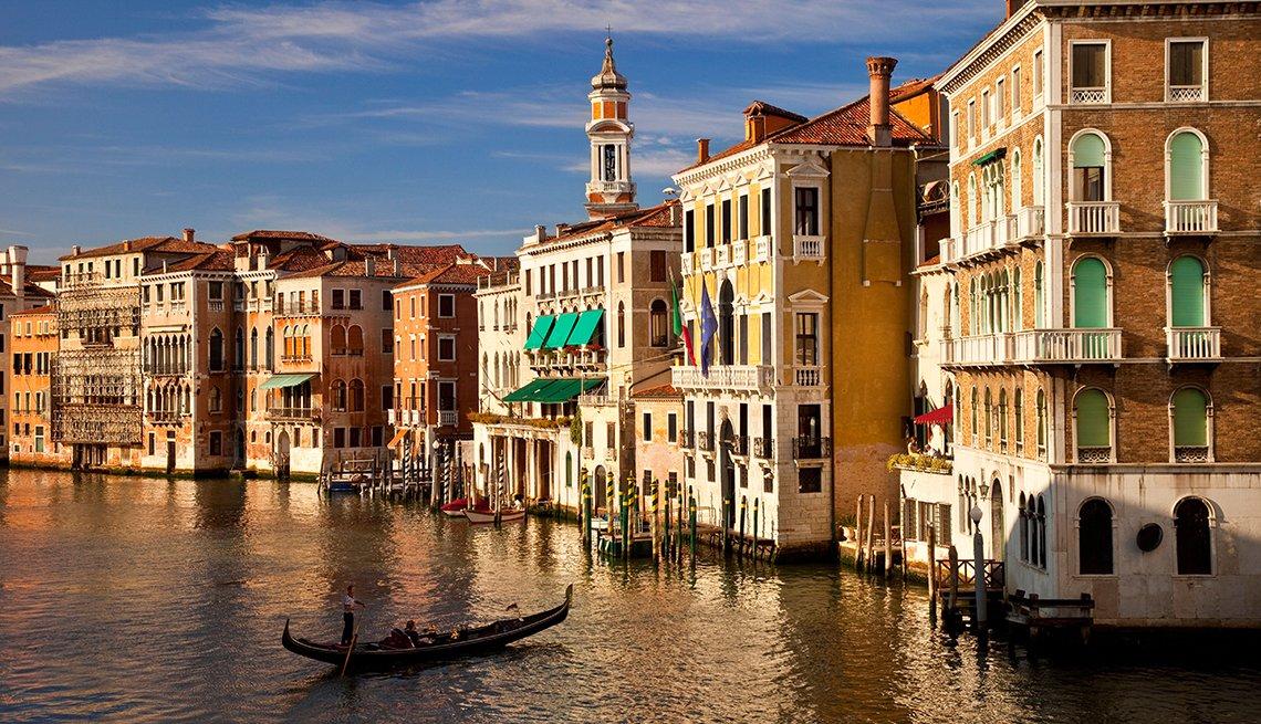 Venecia Italia - Lugares baratos donde viajar