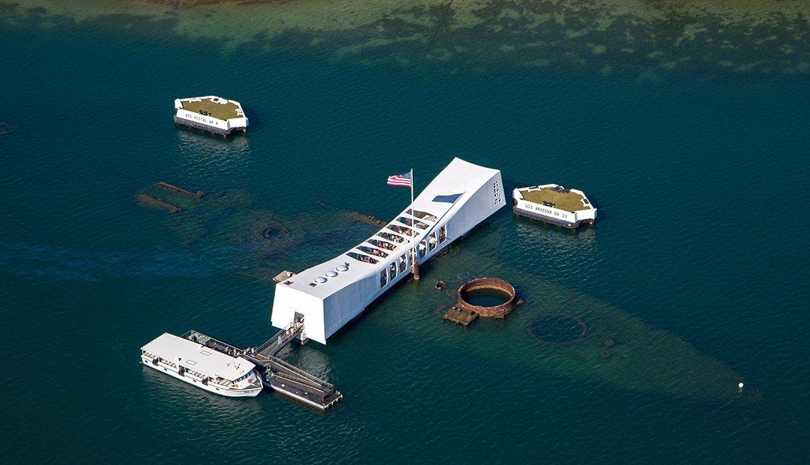 Pearl Harbor Memorial en Honolulu Hawaii