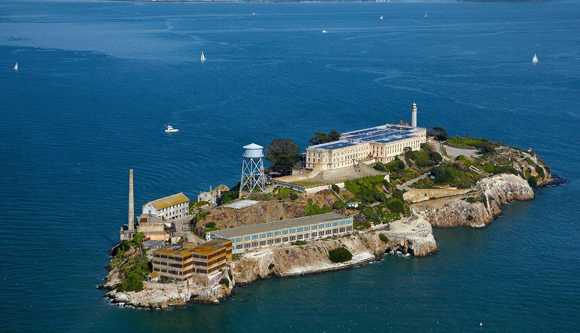 Alcatraz en San Francisco, California - 10 ciudades para los aficionados a la historia