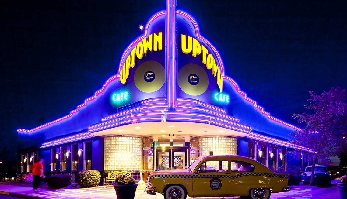 Restaurante Uptown en Branson, Missouri