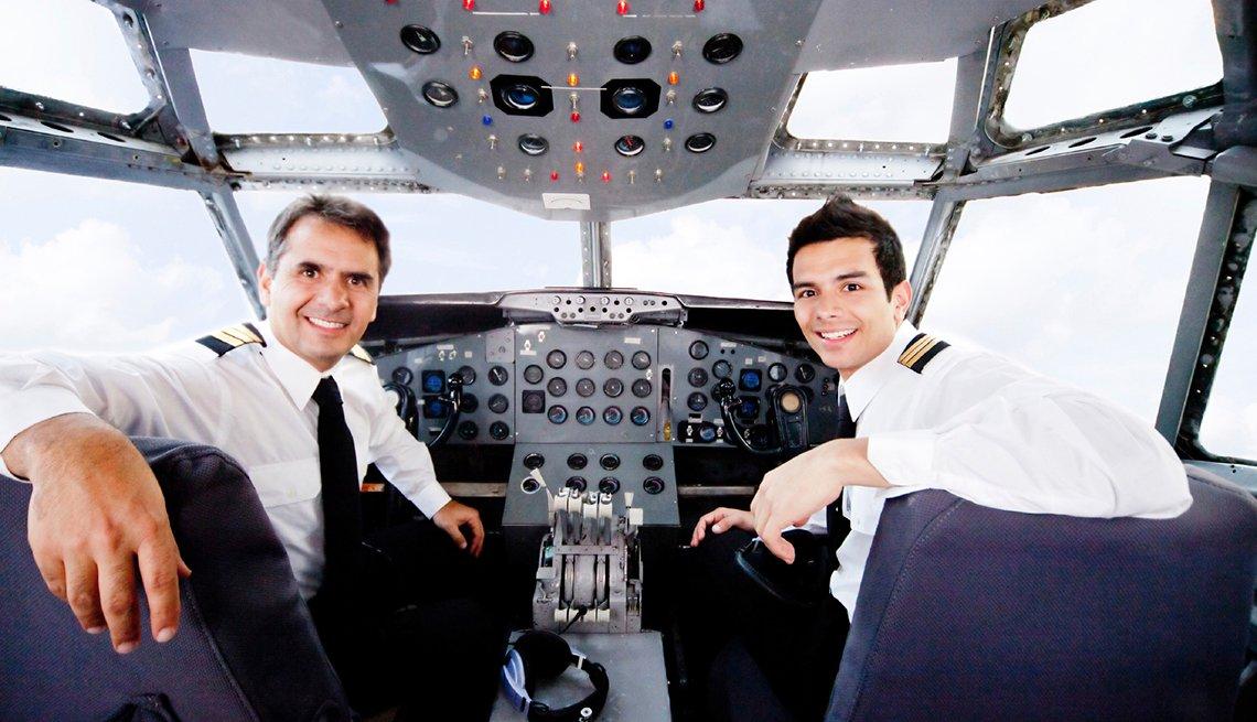 Servicios gratuitos abordo de un avión