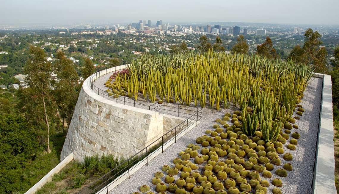 Los jardines más hermosos de Estados Unidos - Museo Getty